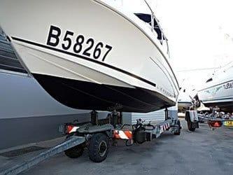 Remorques et transport. Mistral plaisance, vente, entretien, bateaux neufs, bateaux occasions, situé au Lavandou.