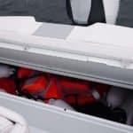 Photographie du coffre du bateau BMA modèle X199