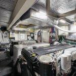 Salle des machines. Bateau de type Motoryacht de la marque Absolute, modèle NAVETTA 52.