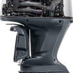 Vue intérieure. Moteur Yamaha 350 chevaux. Couleur gris.