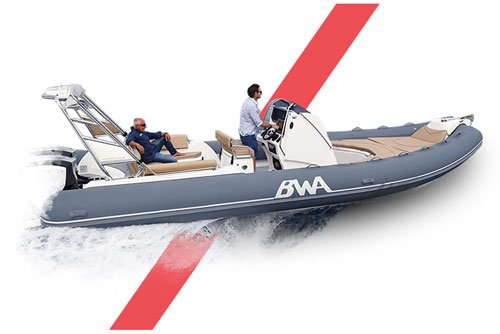 Photographie d'un bateau de la marque BWA, série Sport.