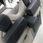 Photographie de sièges du bateau BMA modèle X266