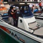 Photographie de trois quart du bateau BMA modèle X266