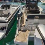 Photographie de l'arrière du bateau BMA modèle X199